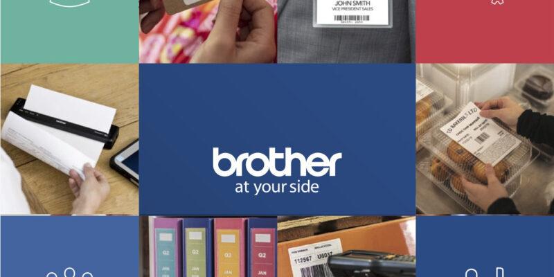 Copertina Brother Etichette